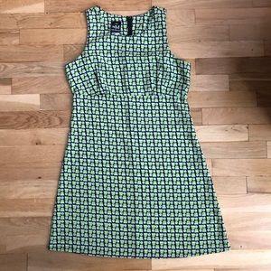 Vintage 90s Lime Dress